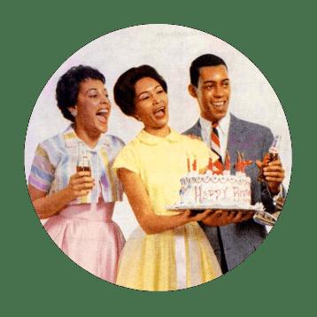 Happy Birthday Trio